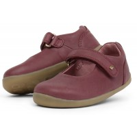 Bobux Step Up Delight Plum Shoes