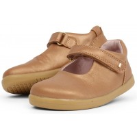 Bobux I-walk Delight Caramel Shimmer shoes