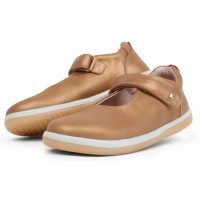 Bobux Kid+ Delight Caramel Shimmers Shoes