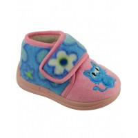 Mirak Dinky Cat Pink Slippers