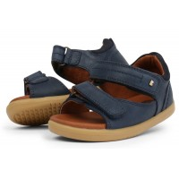 Bobux I-walk Driftwood Navy Sandals