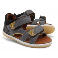 Bobux I-walk Wave Charcoal Sandals