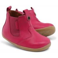 Bobux Step Up Jodphur Fuchsia Pink Boots