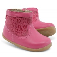 Bobux Step Up Gaze Primrose Pink Boots