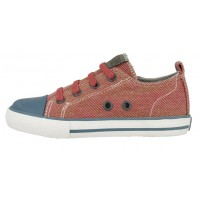 Gioseppo Fides Red Canvas Shoes