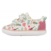 Gioseppo Friendly Multi Print Canvas Shoes