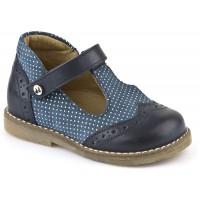 Froddo G2140021-1 Navy Blue T-bar Shoes