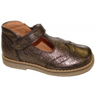 Froddo G2140036-2 Bronze Grey T-bar Shoes