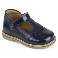 Froddo G2140024 Navy T-bar Shoes