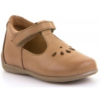 Froddo G2140037-10 Cognac Tan T-bar Shoes