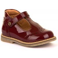 Froddo G2140049-2 Bordeaux Patent T-bar Shoes