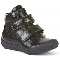 Froddo G3110100-1 Black Patent School Boots