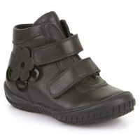 Froddo G3110100 Black Leather School Boots
