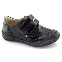 Froddo G3130020-4 Black Patent School Shoes