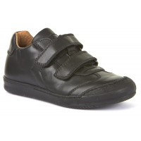 Froddo G3130133 Black Leather School Shoes