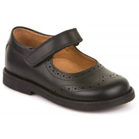 Froddo G3140006-6 Black Leather School Shoes