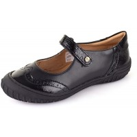 Froddo G3140007-4 Black Patent School Shoes
