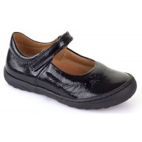 Froddo G3140053-1 Black Patent School Shoes