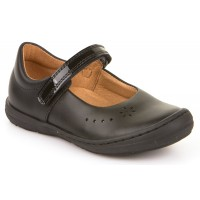 Froddo G3140053 Black Leather School Shoes