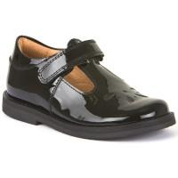 Froddo G3140073-1 Black Patent T-bar School Shoes