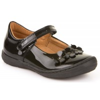 Froddo G3140074 Black Patent School Shoes