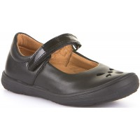 Froddo G3140076 Black Leather School Shoes