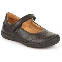 Froddo G3140077 Black Leather School Shoes