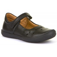 Froddo G3140109 Black Leather School Shoes