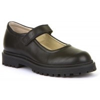 Froddo G3140114 Black Leather School Shoes