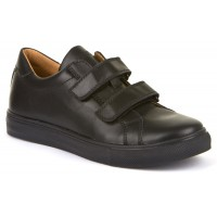 Froddo G4130068 Black Leather School Shoes