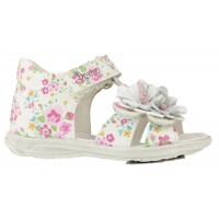 Primigi Galenia White T-bar Sandals