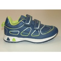 Geox Teppei Navy Trainers