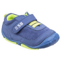 Hush Puppies Harry Blue Pre-walkers