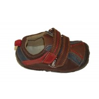 Hush Puppies Tad brown Pre-Walkers