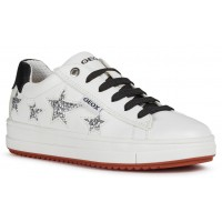 Geox Rebecca J02BDB White Shoes