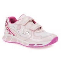 Geox Shuttle Pink Trainers