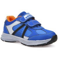 Geox Top Fly Royal Blue Trainers