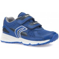 Geox Bernie Royal Blue Trainers