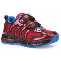 Geox Android Red Trainers