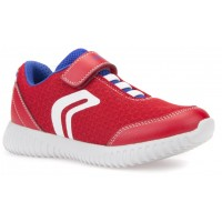 Geox Waviness Red Trainers