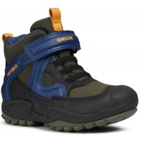 Geox Savage Green Blue Waterproof Boots