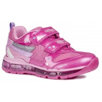Geox Android J8445B Pink Trainers