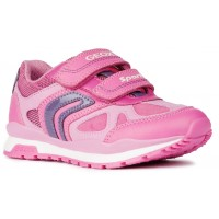 Geox Pavel J848CA Pink Trainers