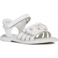 Geox Karly J9235D White Sandals