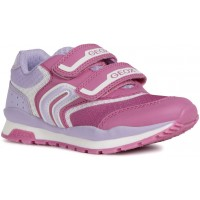 Geox Pavel J928CA Pink Lilac Trainers