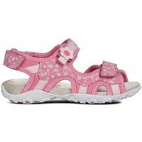 Geox Roxanne Pink Print Sandals