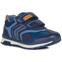 Geox Pavel Navy Trainers