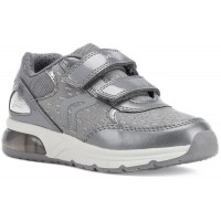 Geox Spaceclub Grey Lights Trainers