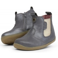 Bobux Step Up Jodphur Charcoal Shimmer Boots