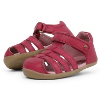 Bobux Step Up Jump Dark Pink Sandals